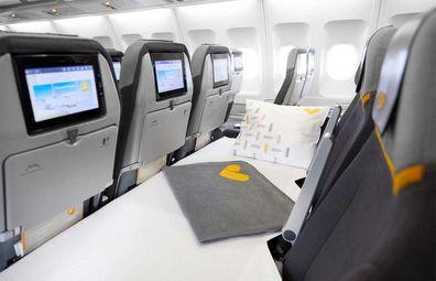 Thomas Cook lie-flat sleeper seats