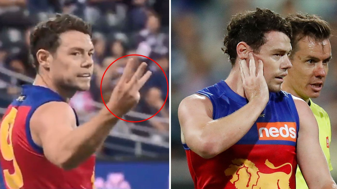 Why cheeky reaction to Gary Rohan blow could backfire on Lachie Neale