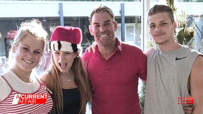 Shane Warne opens up about family and the lessons he's learnt