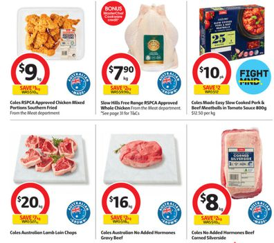 Coles has every type of meat you may want to roast for a perfect winter dinner.