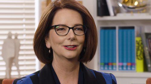 Former prime minister Julia Gillard has praised Ms Macklin's contribution to Australia. Picture: Supplied