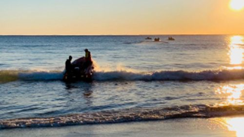 Search for missing swimmer continues on NSW far south coast