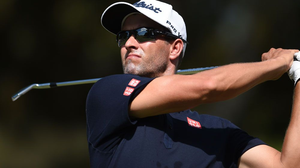 Scott falls as Dodt keeps Aussie PGA lead