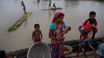 Tens of thousands have been displaced.