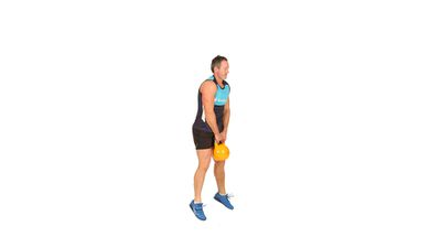 <strong>How to do a kettlebell squat jump</strong>