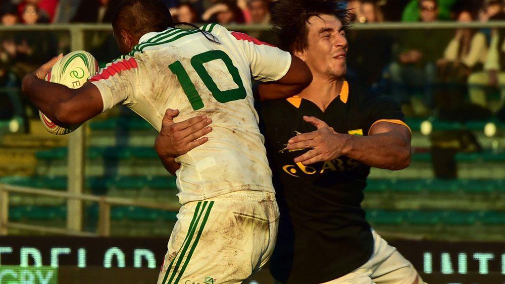 Springboks go down to Italy.(AFP)