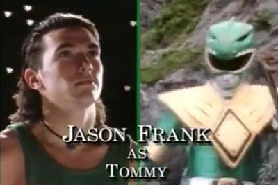 Jason David Frank: The Green/White Ranger/Tommy Oliver<br/><br/>Image: Saban Entertainment
