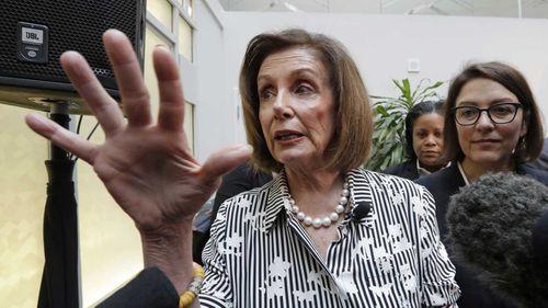 Nancy Pelosi announced an impeachment inquiry last month after it emerged that Donald Trump pressured the Ukrainian president to investigate Joe Biden.