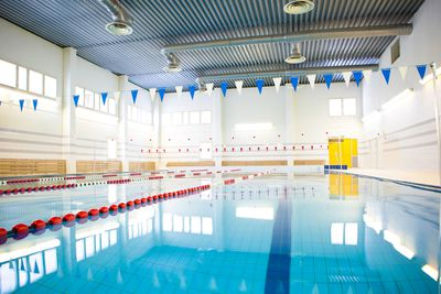 An Olympic-size swimming pool probably contains more than 200 litres of urine