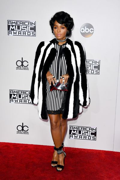 <p>Number one</p> <p>Janelle Monae</p> <p>Pimping perfection. Cruella de Ville with a modern Motown mix. </p> <p> </p>