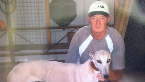 The greyhound trainer was killed by an explosive device. (Supplied)