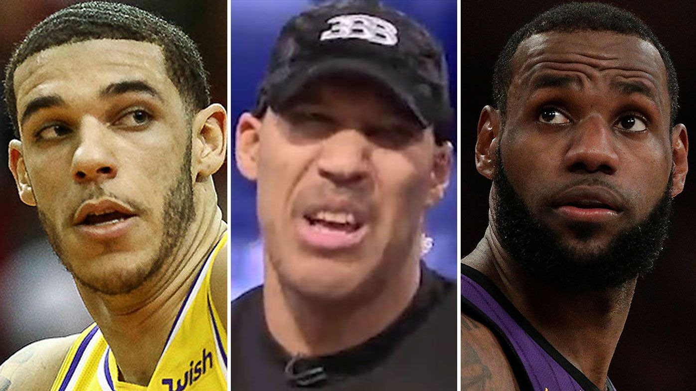 LeBron James Lonzo Ball