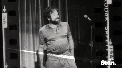 Robin Williams as seen on The Comedy Store.