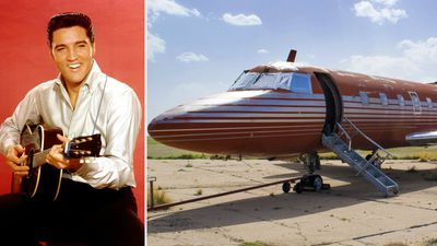 Live like the King - Elvis's private jet could be yours