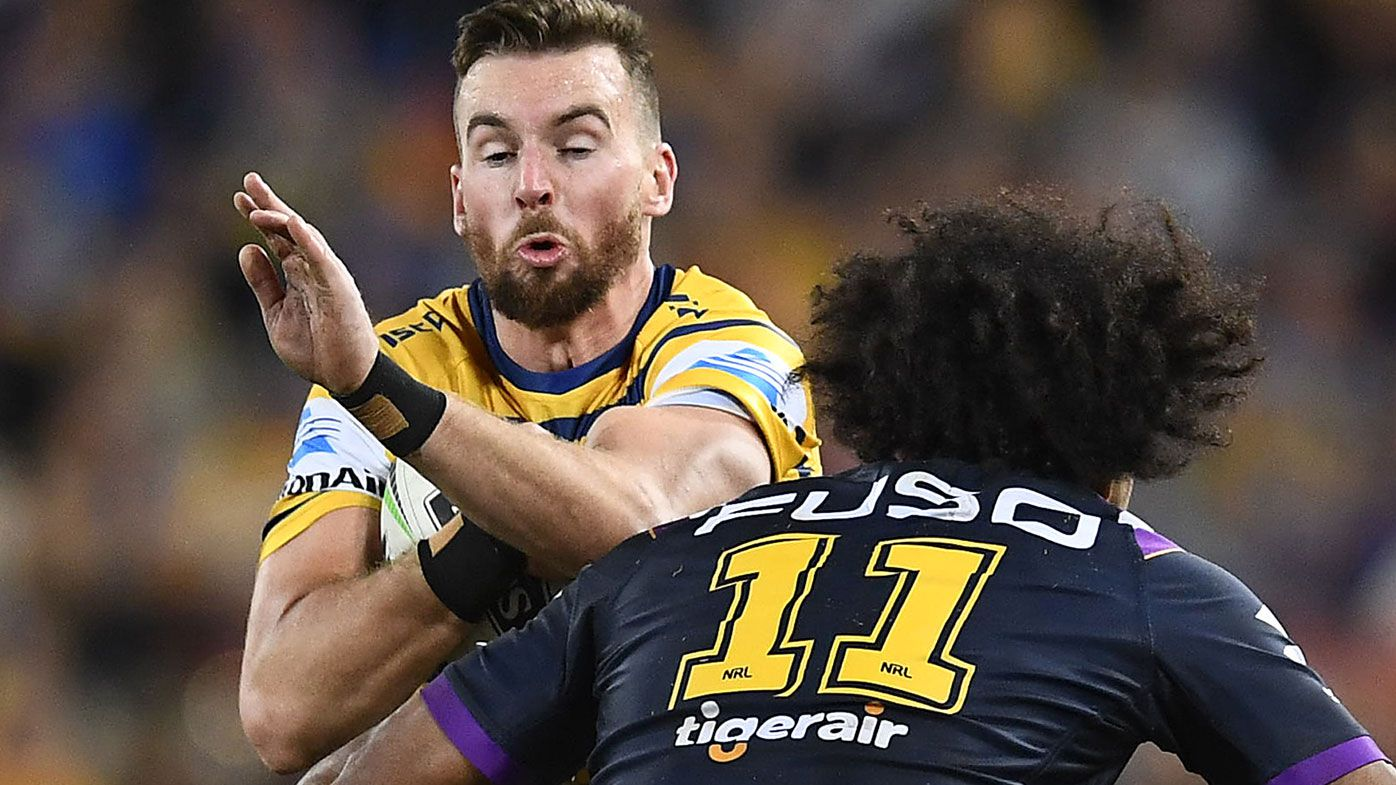 Eels star Clint Gutherson given blunt message by Mark Geyer amid contract saga