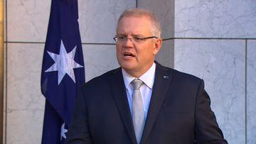 Scott Morrison speaks after National Cabinet meeting on June 26