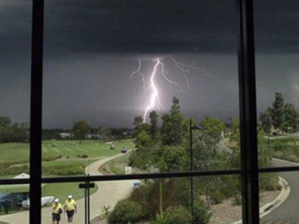 Massive storm halts NSW Open