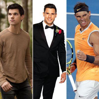 Johnny and Taylor Lautner/Rafael Nadal