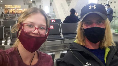 The pair have endured months of cancelled flights.