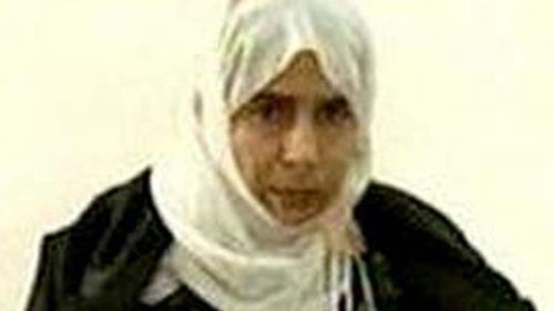 Would-be suicide bomber Sajida al-Rishawi who is facing execution in Jordan.