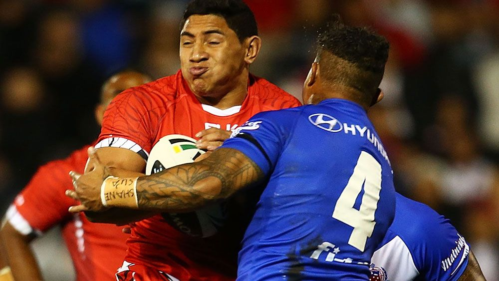 Jason Taumalolo coy on why he chose to play for Tonga instead of New Zealand at Rugby League World Cup