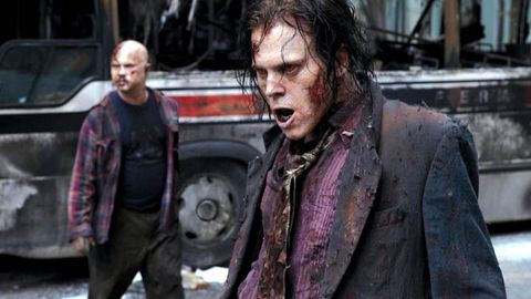 New zombie drama scares up record ratings