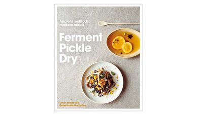 "<p><a href=""https://www.murdochbooks.com.au/browse/books/healthy-cooking/Ferment-Pickle-Dry-Simon-Poffley-illustrated-by-Kim-Lightbody-and-Gabriela-Smolinska-Poffley-9780711237780"" target=""_top"">Ferment Pickle Dry - Ancient Methods, Modern Meals</a><br> By Simon Poffley, illustrated by Kim Lightbody and Gabriela Smolinska-Poffley<br> Murdoch Books, $39.99</p>"