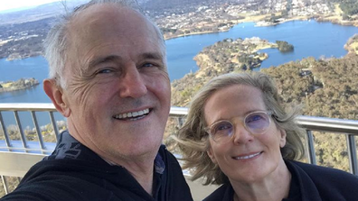 Malcolm and Lucy Turnbull have been married for 40 years.