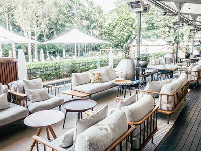 The Bryon at Bryon lounge terrace