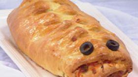 Crocodile pizza bread - DAIRY AUSTRALIA