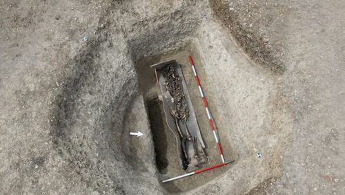 Iron Age murder victim found tied and buried near London