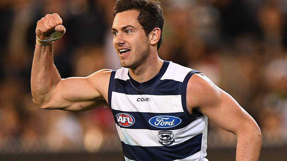 AFL: Daniel Menzel signs new deal with Geelong Cats
