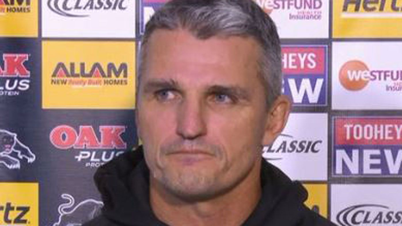 Panthers' coach Ivan Cleary refuses to apologise for Wests Tigers exit