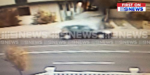 The BMW believed to be responsible for the hit-run was caught on CCTV.