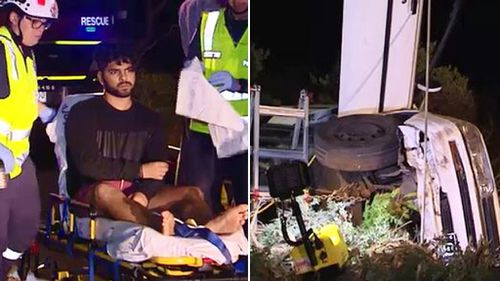 P-plater saved by tree after almost driving off 50-metre cliff in Victoria