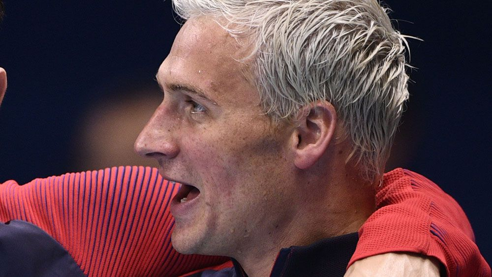 Ryan Lochte. (AFP)
