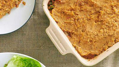 Zoe Bingley-Pullin's lamb and vegetable samosa pie