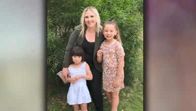 Kobie with her children