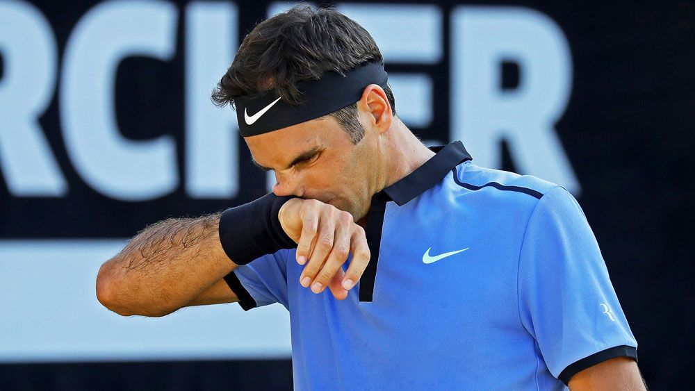 Tommy Haas stuns Roger Federer in second round of Mercedes Open in Stuttgart