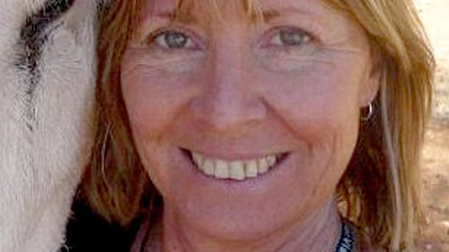 Gayle Woodford, 56, was found in a shallow grave five weeks ago. (supplied)