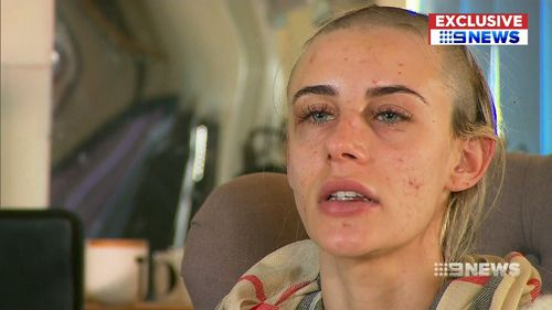 Cheyane Lubec spoke to 9NEWS of her ordeal.