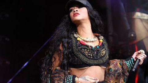 Rihanna's 'underboob' wardrobe malfunction