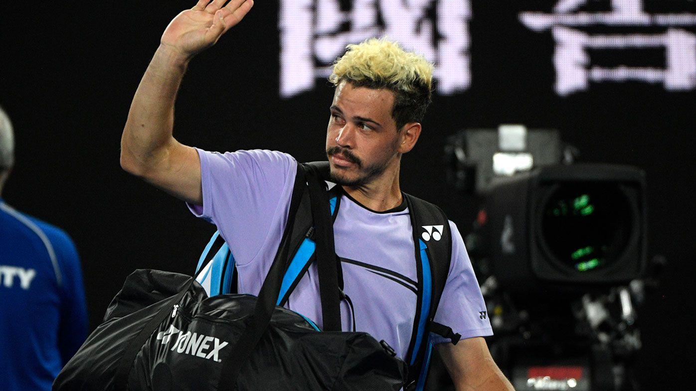 Australian Open: Alex Bolt bows out of Open at hands of Alexander Zverev