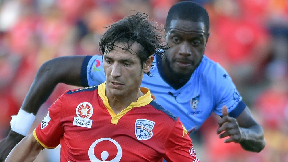 Adelaide draw A-League 2-2 with Sydney FC
