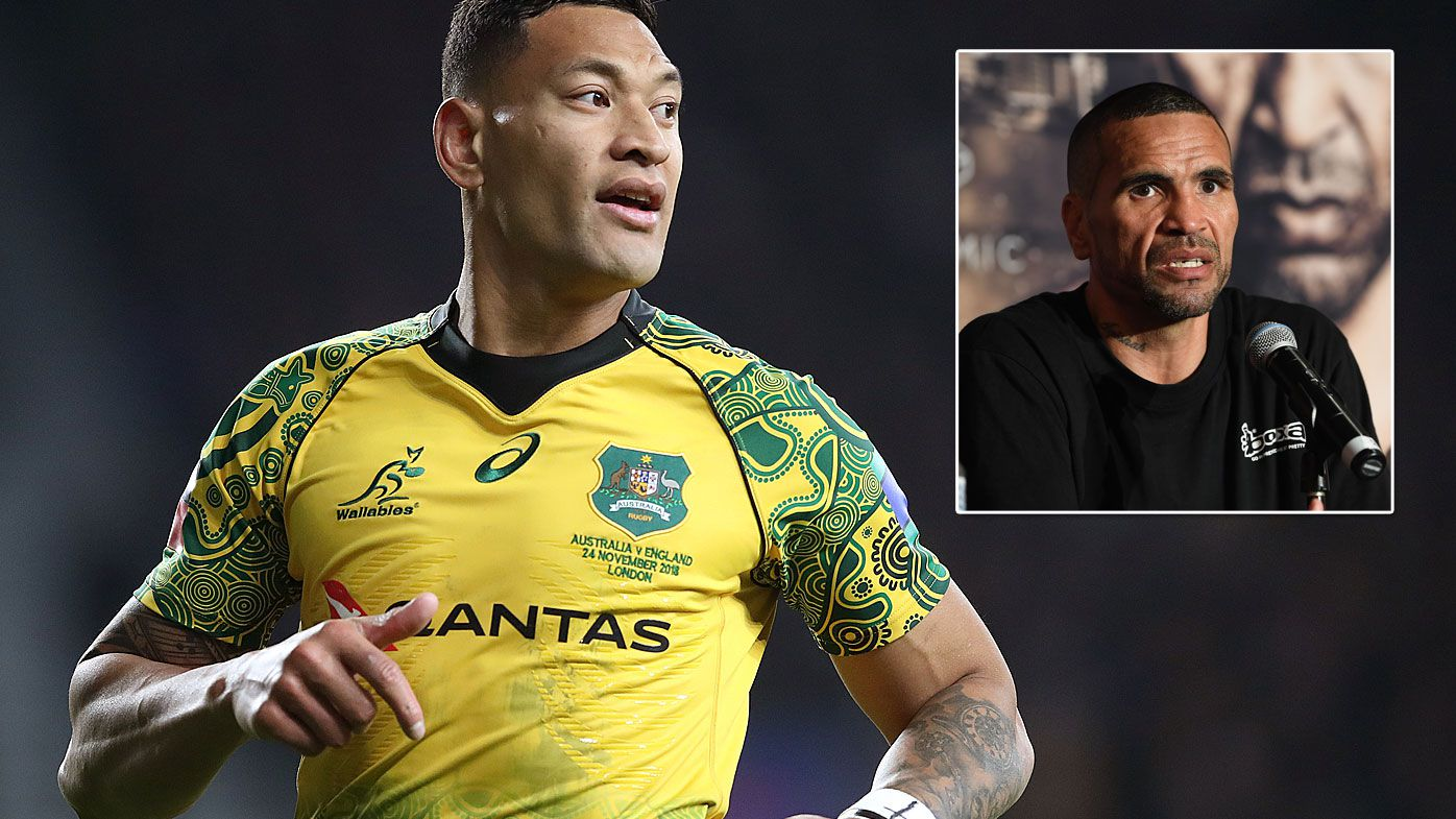 'It's about racism': Anthony Mundine speaks out in support of Israel Folau