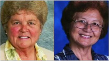Sisters Mary Margaret Kreuper (L) and Lana Chang (R) are being investigated internally by the Catholic church.