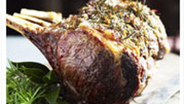 Succulent rib roast