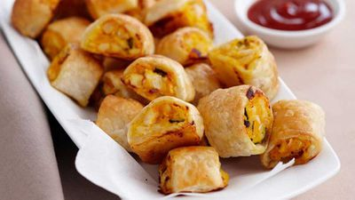 <strong>Chicken sausage rolls</strong>