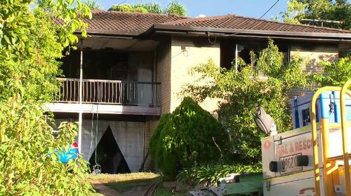 A woman aged in her 60s and her son aged in his 20s lived in the home. It is not known if they were the victims of the fire. (9NEWS)