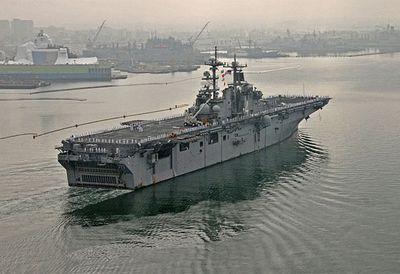 Starbucks on a warship